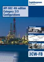 Brochure API 682 4th  ed. Cat. 2/3 Configurations - 3CW-FB