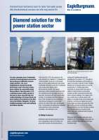 Solution: Diamond solution for the power station sector